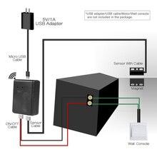 Smart home produkte sensor Garage Smart WiFi Schalter Smart WiFi Stecker Telefon APP Control Garage Schalter Alexa für Google Hause IFTTT