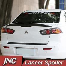 Car Styling Spoiler Lancer 2009-2015 Rear Trunk Roof Spoiler For Mitsubishi Lancer Accessories Rear Spoiler Wings Primer Lancer