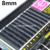 7 Tamaños de Alta Calidad 0.07 C curl pestañas de visón negro extensión Individual de la pestaña falsa Gruesa Falso Del latigazo del Ojo 8 MM a 14 MM