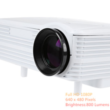 H80 Projetor 640x480 Pixels 800 Lumens Projetor Full HD Home Theater 1080 P Projeção Mini LED Projetor de Vídeo(China (Mainland))