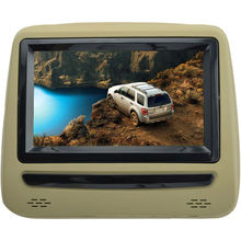 For LSQ STAR 7 Swivel screen headrest DVD player/Monitor with FM/IR/SD/USB/3G/dvd/mp4/mp5 for all the car