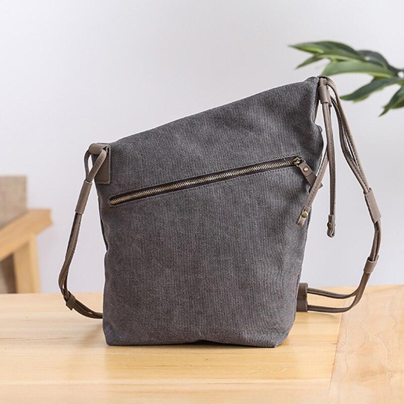 deep Leinwand Large Trendy Carry Männer Deep Literarischen Schulter Pakete Bjyl Tasche Lässige Small Oblique Vintage Grey xS6qwOd1