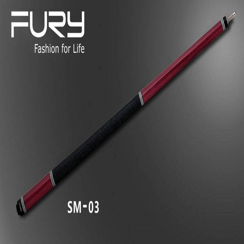 fury billiard cues /Fury SM Series Pool Cue Model SM-03 /Hard wood North America solid Maple 9 Ball stick pool billiard cue cherry brown wood 11 75mm