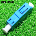 KELUSHI10pcs LC to LC/PC Singlemode Simplex Coupler Fiber Optic Adapter Connector LC-LC fast shipping