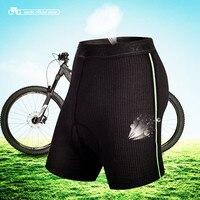 Santic Radfahren Slip Mens Schlüpfer Unterwäsche Coolmax Padded Gel Bike Basis Radfahren Kurzen Shorts ciclismo Zwei Stil MC06001