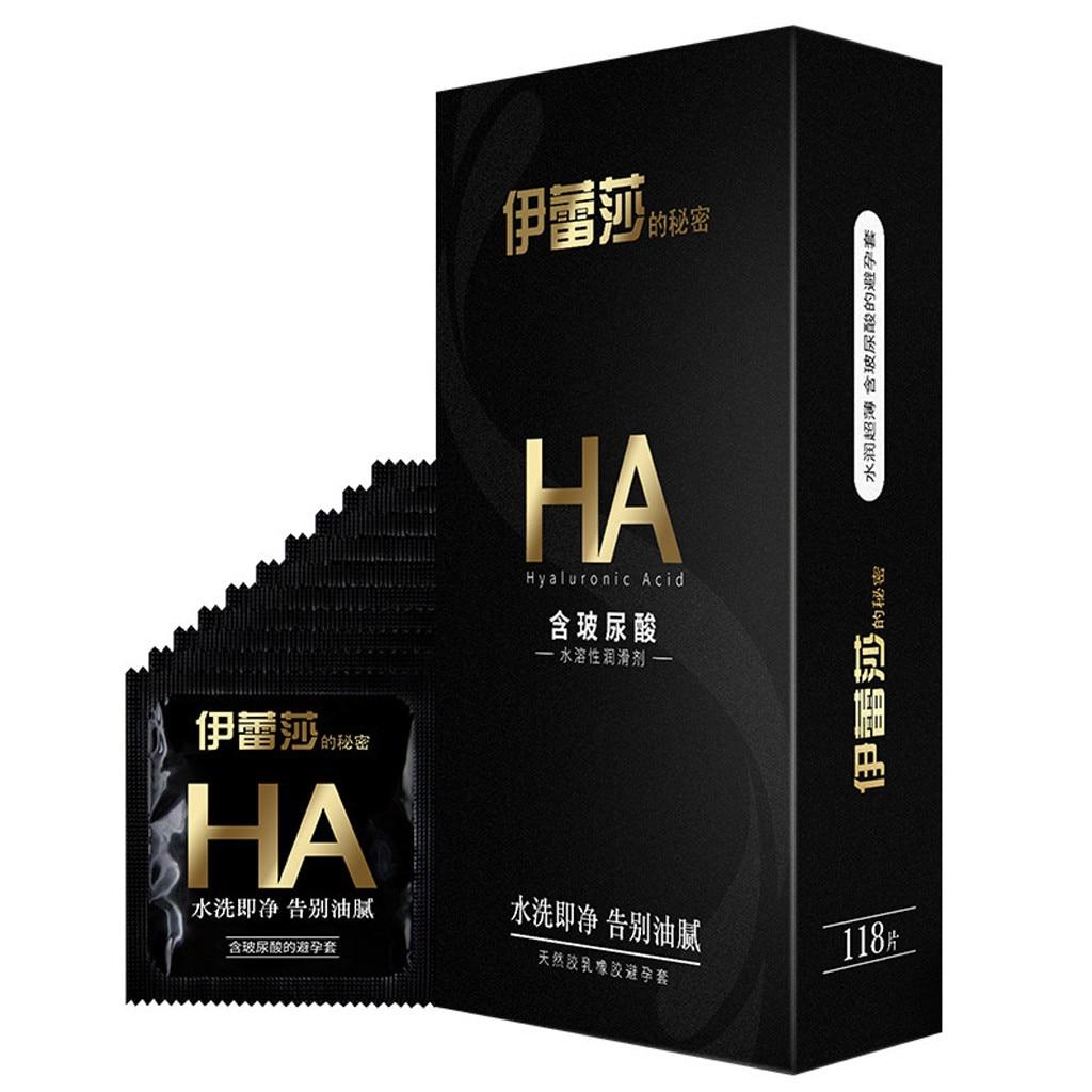 118 pcs Latex Condoms Delay Penis Rings Contraception Tools Condom Sex Products W0121