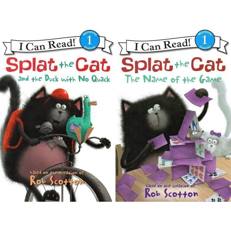16 livres + 2 CD AUDIO je peux lire! SPLAT le chat coloriage livres pour enfants enfants anglais histoire livre ensemble début Educaction lecture - 4