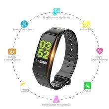 C1Plus браслет умный цветной счетчик шагов фитнес-трекер пульсометр монитор кровяного давления для Android/наручные часы IOS