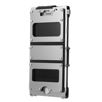 Armor King Rivet Kickstand Anti knock Iron Man Metal Flip Case For iPhone 7/7Plus 8/8 Plus Phone Case