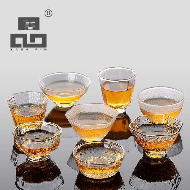 Teetassen Glas tangpin glas tasse japanischen hitzebeständigem glas tasse