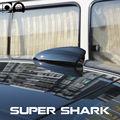 Super especial do carro de barbatana de tubarão tubarão barbatana de tubarão auto com 3 m adesivo para Peugeot 407 acessórios