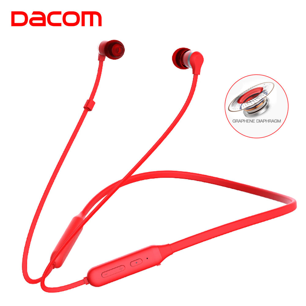 DACOM L06 Sport Mini Bluetooth Headset Earbuds Graphene Wireless Audifonos Headphone Headfone Neckband Ear Phones Fone De Ouvido