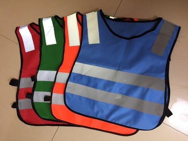 Cao khả năng hiển thị giao thông đường bộ học sinh trẻ em phản quang áo ghi lê phản quang an toàn quần áo