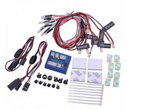 F10262 New Version 12 LED Flashing Light System Lighting Kit For RC Cars Helicopter Plane Quadcopter