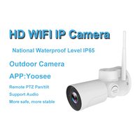 Wireless Wifi IP PTZ Security Bullet Camera 960P 1080P 4X Optical Zoom 50m IR Night Vision