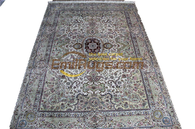 Hereke Silk Carpet Oriental Carpets Carpet Handmade Big Carpet For Living Roomgc117psilkyg28Hereke Silk Carpet Oriental Carpets Carpet Handmade Big Carpet For Living Roomgc117psilkyg28