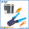 Rj11 RJ45 Cable Tester e crimper RJ 45 RJ 11 RJ 12 rede conjuntos
