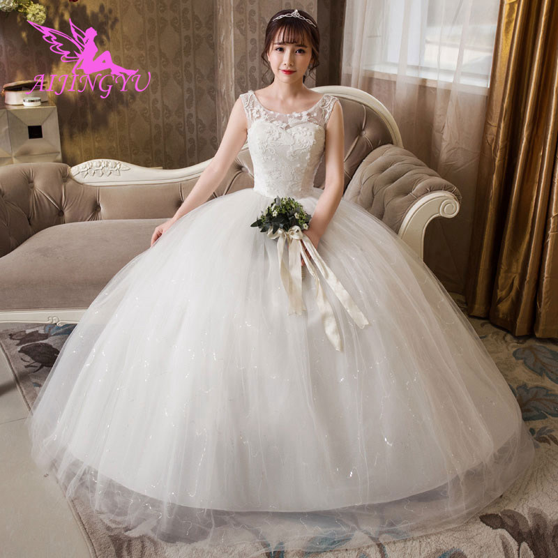 AIJINGYU Dresses Plus Size Party Wedding Dress 2018 Bridal WU264