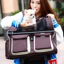 Hot Pet Dog Stroller Travel Bag Dog Trolley Puppy Dog Carriers Breathable Carrier Bag Pet Cat Stroller Trolley Bag Pet Carrier