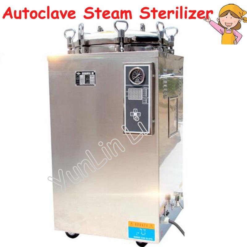 Automatic Autoclave Steam Sterilizer 35L Vertical Digital Steam Sterilizer High Pressure Sterilization Pot LS-35LD dental sealing machine seal autoclave steam sterilization dentist equipment