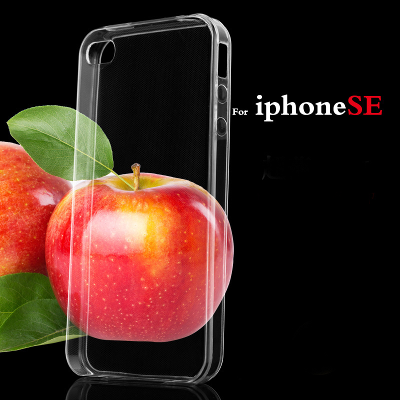 Transparent Clear Case for Apple iPhone 5 5s Soft Silica Gel TPU Case Silicone Cover Ultra Thin Mobile Phone Cases Very Cheap