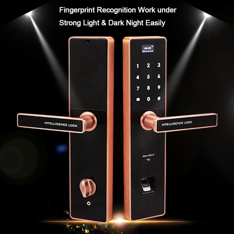 Eseye цифровой электронный замок дверной Умный Замок Безопасный умный дверной замок биометрический дверной замок отпечатков пальцев RFID разб