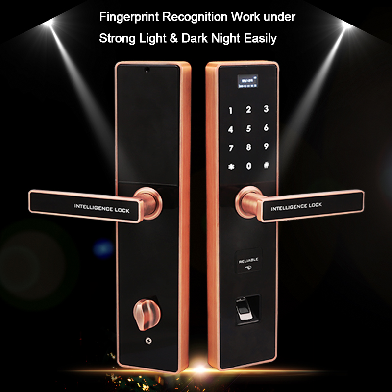Eseye Digital Electronic Lock Door Intelligent Smart Lock Safe Smart Door Lock Biometric Fingerprint Door Lock RFID Unlock eseye electronic lock door face digital door lock fingerprint intelligent electronic locks smart door lock touch screen keyless
