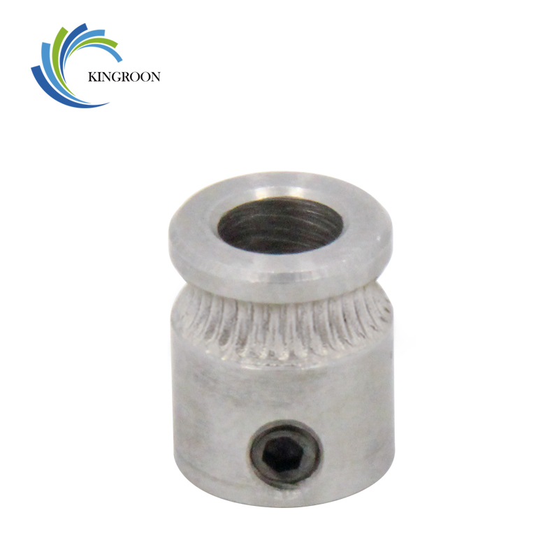 KINGROON MK8 Driver Gear 9mm*5mm*11mm Part For Extruder 1.75mm 3.0mm Filament 3D Printers Parts Extrusion Wheels 5mm Pulleys