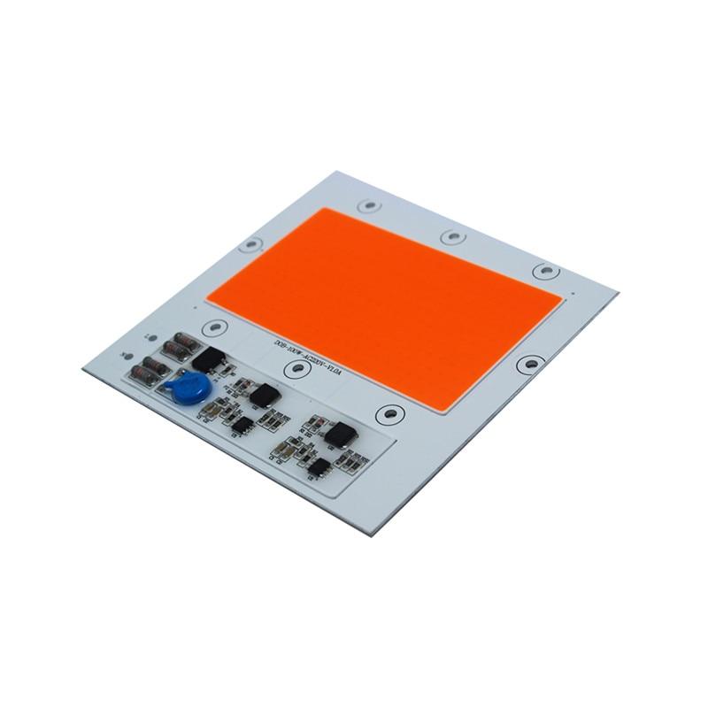 1PCS COB LED 100W 150w Ac220V High Power Floodlight Bead DOB Chip Full Spectrum Pink Plant Grow Lamp Light Anti Lightning 4KV