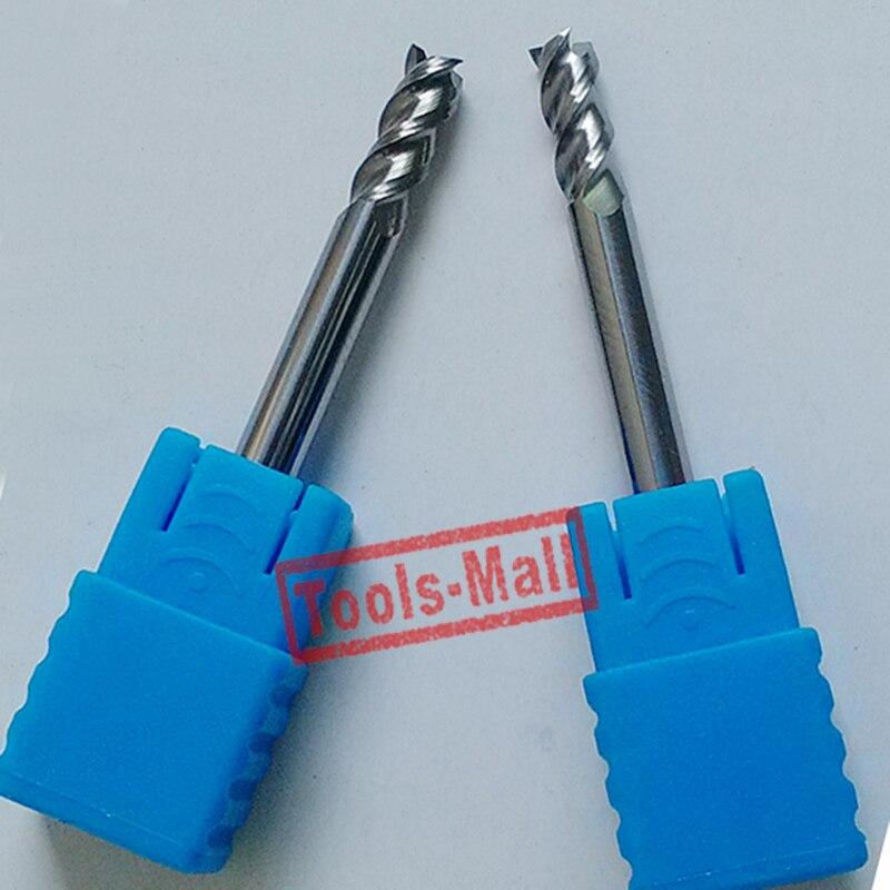 1pc 4mm D4*11*D4*50 HRC50 3 Flutes Milling cutters for Aluminum  CNC Tools Solid Carbide CNC flat End mills Router bits цена и фото