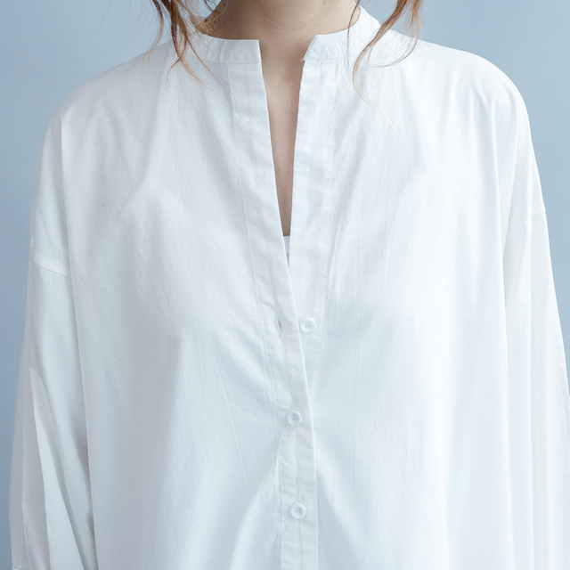 2018 blusas befree off shoulder top ladies long shirt fashion chemise femme long sleeve white blouse 3