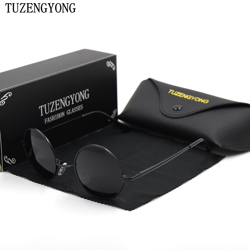 TUZENGYONG Retro Runde Sonnenbrille Marke Unisex Sonnenbrille - Bekleidungszubehör - Foto 1