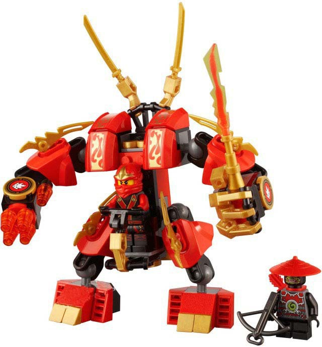 Lenoviva Toy Stores co., LTD 105pcs Ultimate Ninja phantom flame mecha Assembling Building Block toys DIY Creative Bricks Toys