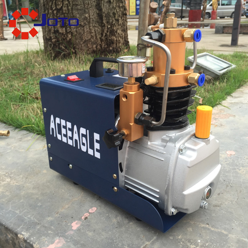 1.8kw 220V Quiet Electrical 30MPA High Pressure Air Pump Air Gun With Oil Water Separation Device