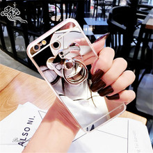Soft TPU Plating Mirror Case Cover for Vivo