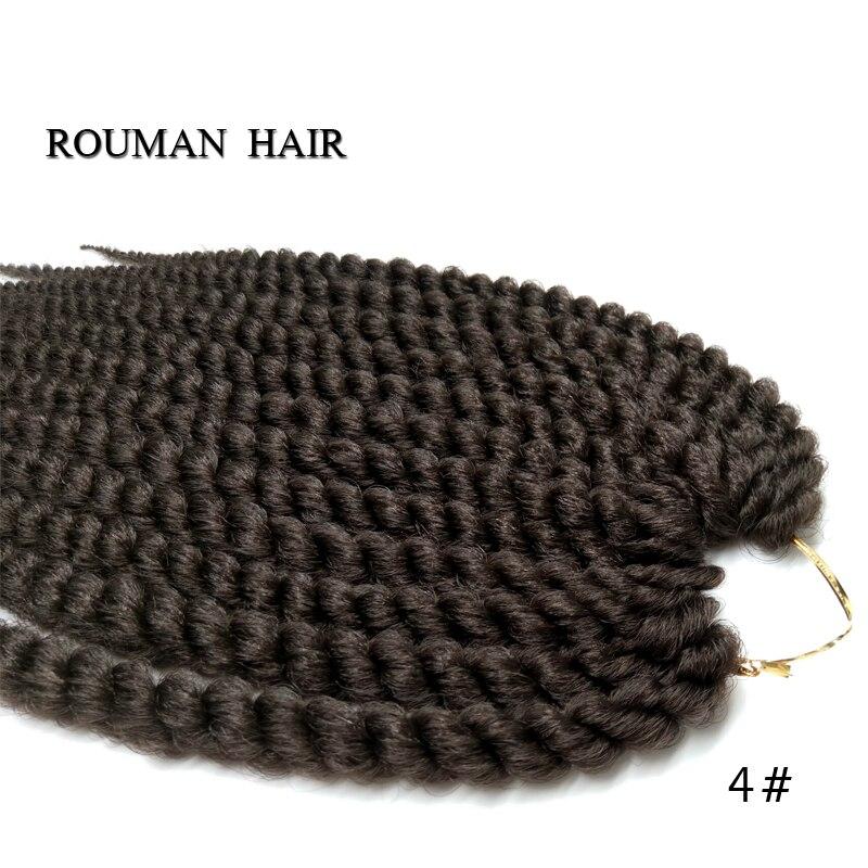 Thick Crochet Braids 14inch Jumbo Havana Twist Crochet Braiding Hair