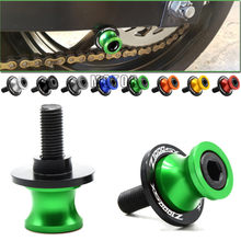Motorcycle Swingarm Sliders Spools 10MM For Kawasaki Z1000SX 2011-2013 Z 1000 SX 1000SX S X Swing Arm Cover Stand Screws Slider(China)