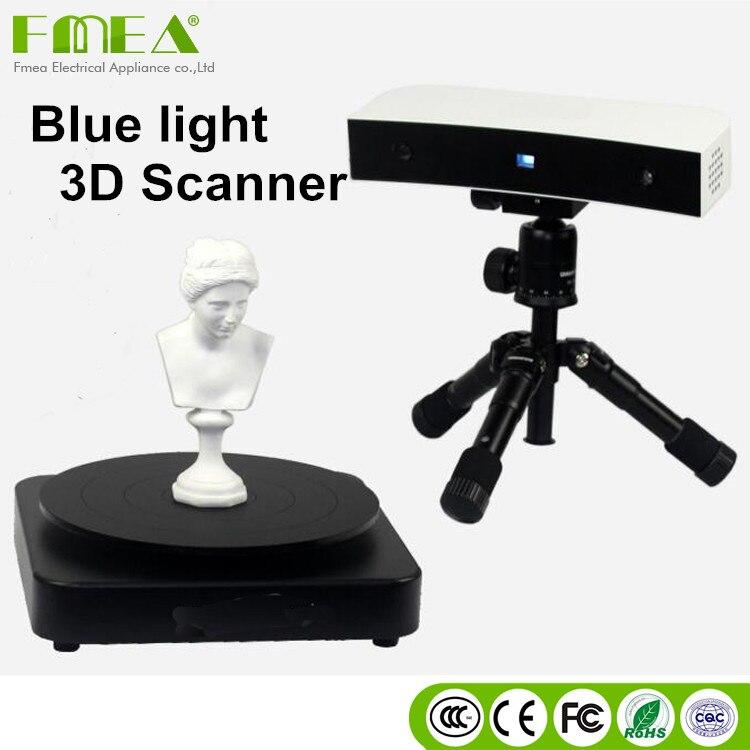 3d scanner hohe qualität desktop blau licht