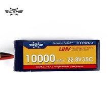 1pcs ACEHE 22.8V 10000mAh 35C 6S1P 228Wh with XT60 Plug High Voltage Lipo Battery