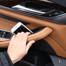 Для BMW New 5 серии G30 2017 2018 Пластик двери автомобиля коробка для хранения телефона лоток аксессуары