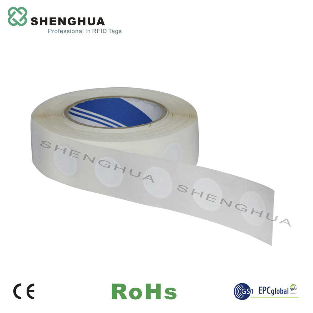 1000pcs/pack 13 56MHz HF Adhesive RFID Tape Label HF NFC Tag