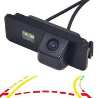 Dynamic Trajectory Tracks Rearview Camera For VW GOLF V 5 SCIROCCO EOS LUPO PASSAT CC POLO(2 cage) PHAETON BEETLE SEAT VARIANT