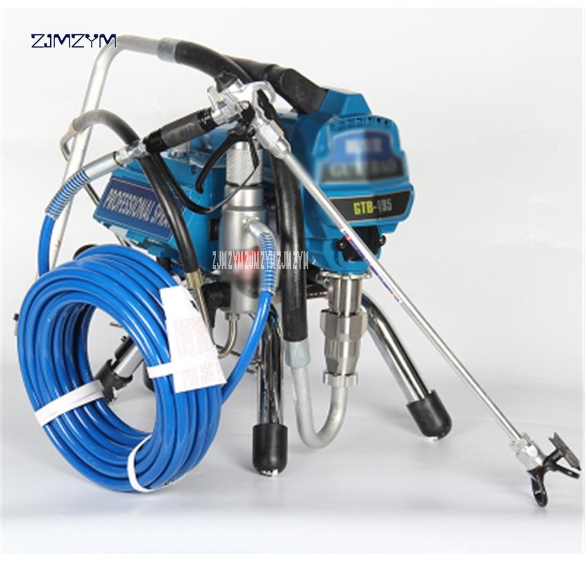 цена на 1PC High-pressure airless spraying machine Professional Airless Spray Gun Airless Paint Sprayer 495painting machine tool 3000PSI
