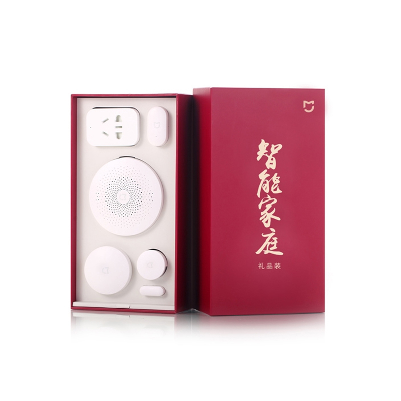Original Xiaomi Kit maison intelligente capteur infrarouge corps humain nouvelle passerelle porte fenêtre capteur sans fil interrupteur ZigBee Socket 5 en 1 - 2