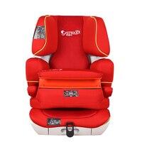 Детское сиденье безопасности сентябрь 3 лет 12 лет переднее сиденье автомобиля с ISOFIX жестким интерфейсом сиденья