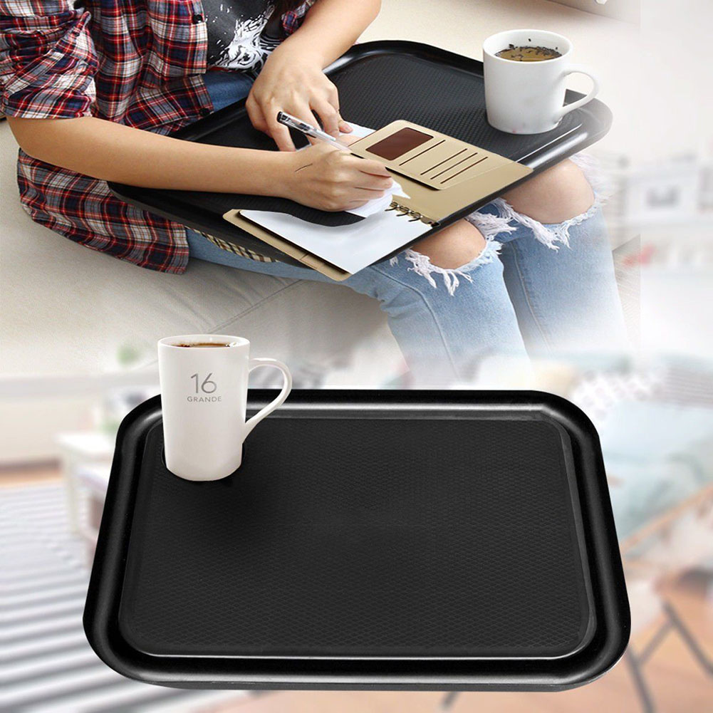 Outdoor Portable Lap Top Tray Holder Plastic Learning Breakfast Desk Laptop Table XHC88