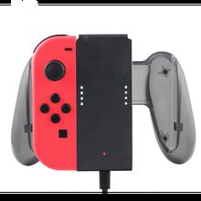 充電グリップ任天堂スイッチ喜び Con コントローラハンドヘルドグリップゲームコンソール充電器