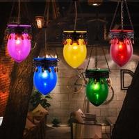 Kolorowe kryształ Droplight azji południowo wschodniej Thai czechy restauracja Bar szkło lampa wisząca|Wiszące lampki|Lampy i oświetlenie -