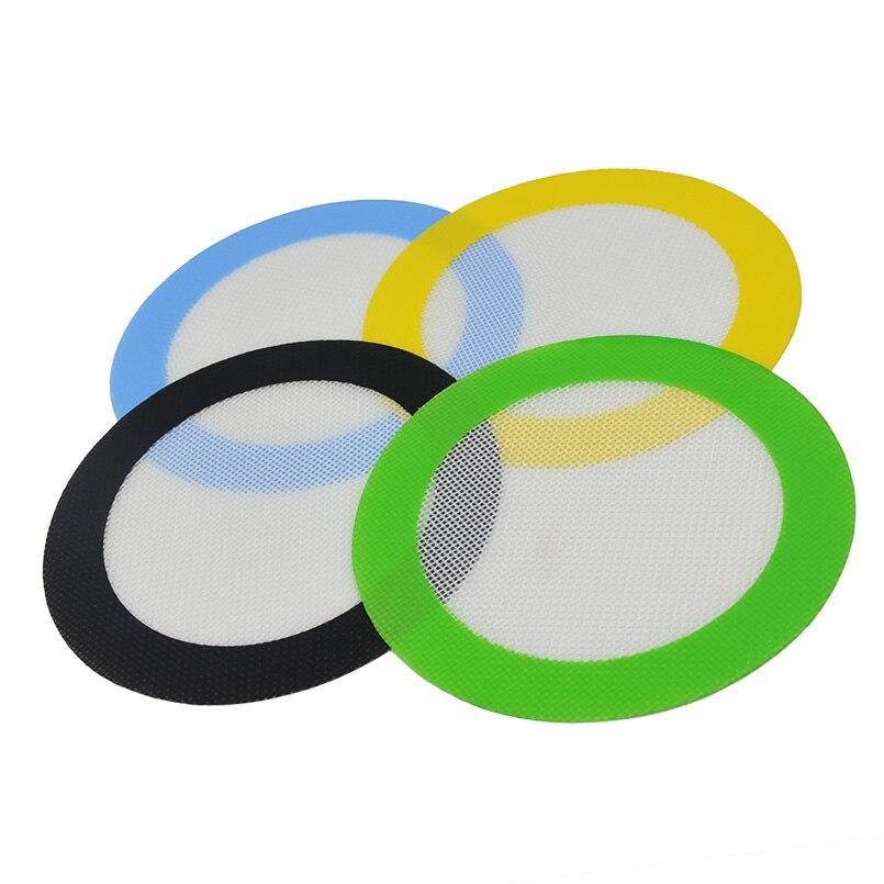 50pcs Fiber Glass Bho Silicone Dab Wax Nonstick Baking Mat