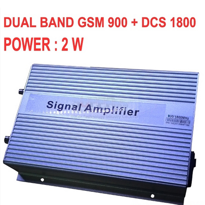 High gain 3000sq meter 2W GSM900 DCS 1800MHZ DUAL BAND BOOSTER GSM DCS repeater DCS booster